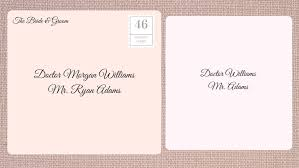 wedding invitations addressing how to address wedding invitations southern living