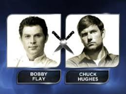 iron chef america chuck hughes takes on bobby flay devour