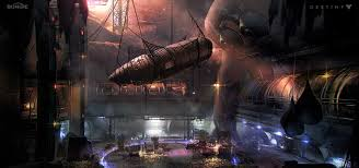 Destiny Maps Artstation Destiny Multiplayer Map Fallen Treasure Room