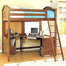 Loft Bed With Futon And Desk Black Metal Loft Bed With Desk Coaster Furniture Size