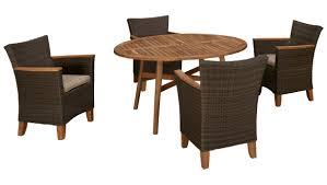 5 Piece Patio Dining Sets - scancom padang scancom padang 5 piece outdoor dining set