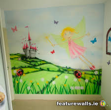 painted murals 2017 grasscloth wallpaper lucky little girl got this hand painted mural recently with the