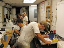 adventures at sea deep sea fish and sediment surveys in the gulf