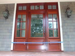 Exterior Door With Side Lights Adjust Therma Tru Front Door With Sidelights Door Stair