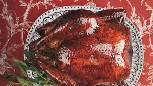 turkey brine mix malt brined turkey with malt glaze recipe bon appetit