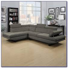 Grey Leather Sectional Sofa Venetian Worldwide Cranbrook Charcoal Gray Sectional Sofa Sofas