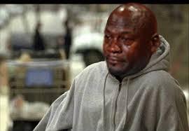 Crying Meme Gif - sad michael jordan gif find share on giphy