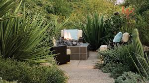 Backyard Landscaping With Fire Pit - ideas for fire pits sunset