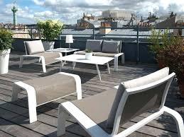 canape jardin aluminium canape jardin aluminium table de jardin extensible en solde inds