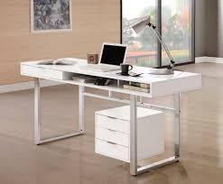 Computer Desks Las Vegas by Rafael White Lacquer Office Desk Collection Las Vegas Furniture