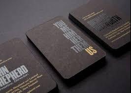 Best Of Business Card Design 10 Elegant Uncoated Business Card Designs