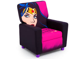 dc comics wonder woman high back upholstered chair delta