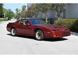 New Trans Am Car 1987 To 1989 Pontiac Firebird Trans Am For Sale On Classiccars Com