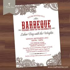 41 best barbeque party invitations images on pinterest party