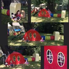 Mickey Mouse Clubhouse Bedroom Set Cardboard Mickey Mouse Clubhouse Lena Lincoln Bday Pinterest