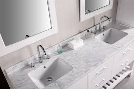 Bathroom Vanity Faucets by Bathroom White Bathroom Vanities With Tops With Double Sinks And