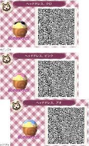 animal crossing new leaf qr codes hair acnl qr codes hair animal crossing pinterest