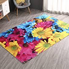 Purple Flower Rug Online Buy Wholesale 3d Flower Carpet From China 3d Flower Carpet