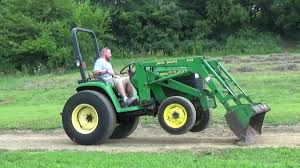 2000 john deere 4400 4x4 tractor with loader 35 hp youtube