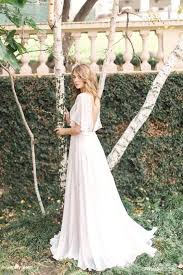flowy wedding dresses 31 delicate and chic flowy wedding dresses weddingomania