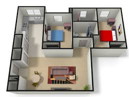 2 bedroom with loft house plans 1 4 bed apartments the lofts