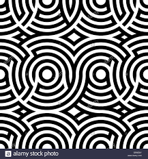 vector background modern pattern two color spiral patterns seamless pattern vector background stock