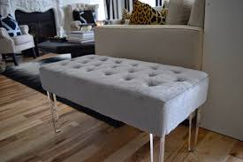 Home Goods Ottoman by The Way We Are Step By Step Diy Black Sheepskin Bench With