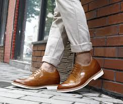 chamaripa men elevator shoe 6 5cm 2 36 inch increase height