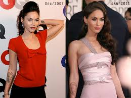 megan fox is removing her marilyn tattoo jessica alba will give