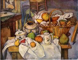 la table de cuisine nature morte à la table de cuisine 1886 en détachant ses pommes de