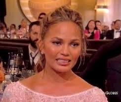 Eww Face Meme - chrissy teigen s cry face know your meme