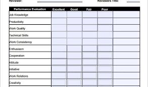 appraisal document template env 1198748 resume cloud