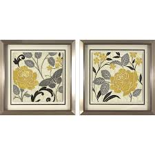 shop 18 in w x 18 in h floral prints wall art at lowes com