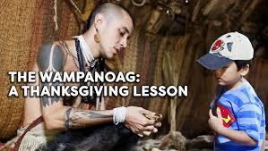 the wanoag a thanksgiving lesson grades 3 5 teachervision