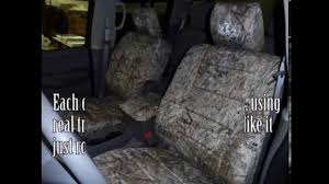 Camo Truck Seat Covers Ford F150 - sportsman camo covers installation video coming soon youtube