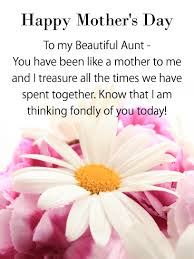 mother s happy mother s day wishes for aunt birthday wishes and messages by