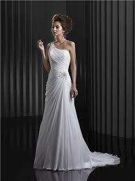 one shoulder wedding dresses best 25 one shoulder wedding dress ideas on one