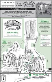 Mansfield Ohio Map by Mohican Adventures Park Map Campground Map And Facilities