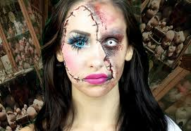 halloween makeup creepy scary doll face makeup easy halloween
