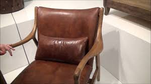 Brown Leather Accent Chair Brown Leather Accent Chair By Pulaski P006201 Home
