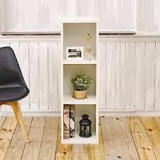 3 shelf narrow bookcase eco 3 shelf narrow bookcase and storage shelf unit white free ship