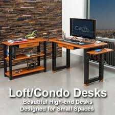 High End Computer Desk Wood Cable Management Desks U0026 Tables For Home And Office Caretta