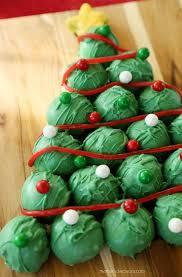 oreo cookie balls tree