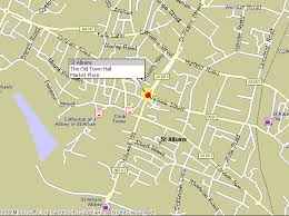 map of st albans st albans
