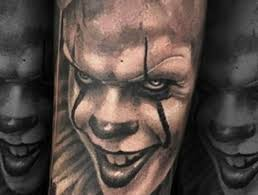 creepy clown tattoos are a thing once again moviepilot com