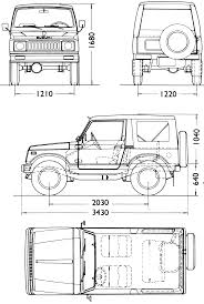 suzuki jimny sj410 suzuki jimny sj 410 blueprint download free blueprint for 3d