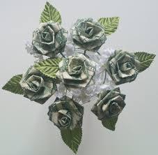money flowers money origami flower bouquet money in bloom crafthubs