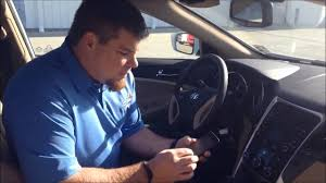 Checkered Flag Hyundai Service How To Link Iphone With 2014 Hyundai Sonata Youtube