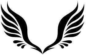 simple wings transparent png stickpng
