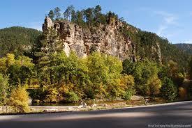 South Dakota waterfalls images Spearfish canyon in the south dakota black hills jpg